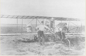 Old Photo of Aeroplane